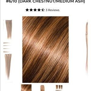 Donna Bella Clip-In Hair Extensions - NEW